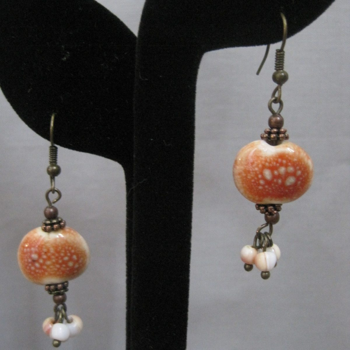 The Crabshell with Shell Dangle Earrings